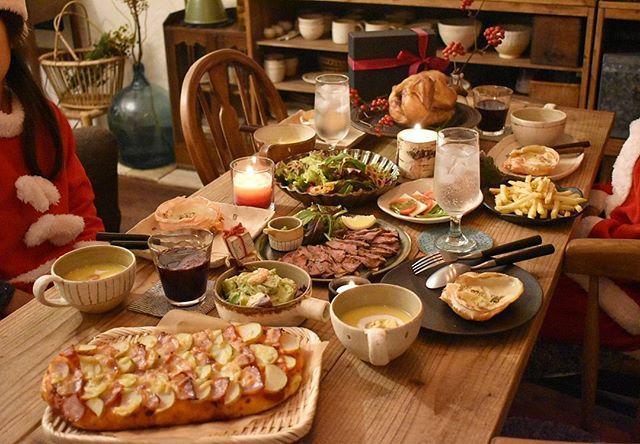 おしゃれで華やかな食卓風景7
