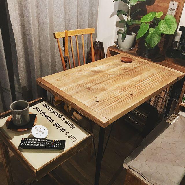 オシャレなサイドテーブルを紹介★17