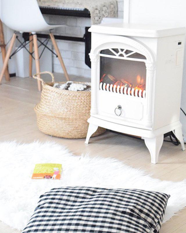 ニトリの暖炉型ヒーター