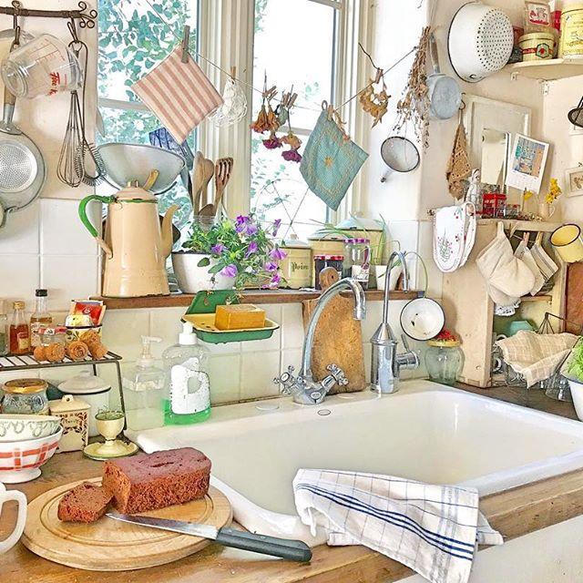 物が多くても素敵なキッチンは作れる2