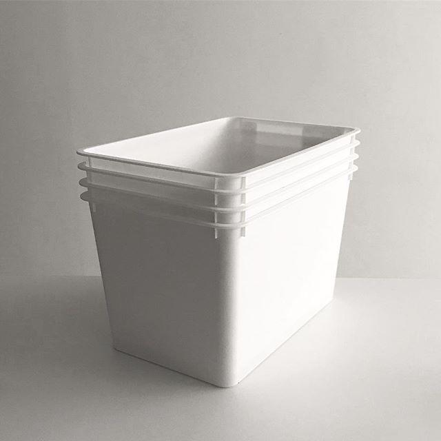 ダイソーやセリアの蓋付き収納ボックス