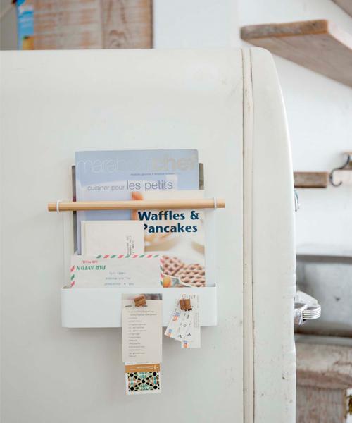 マグネット冷蔵庫サイドレシピホルダー