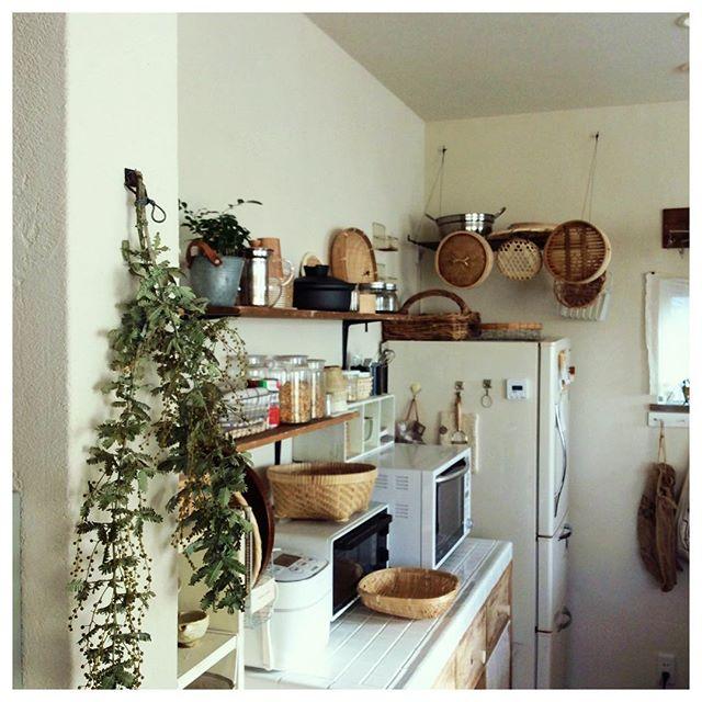 物が多くても素敵なキッチンは作れる12