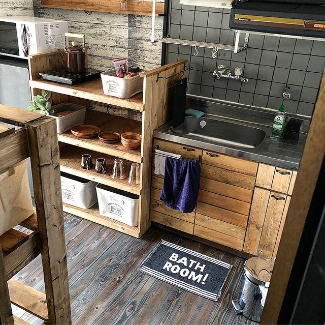 セルフリノベーションキッチン