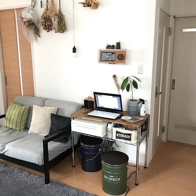 一人暮らしの快適PCスペース2