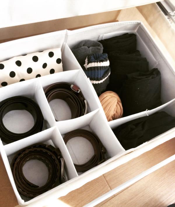 ボックスを使って収納している実例