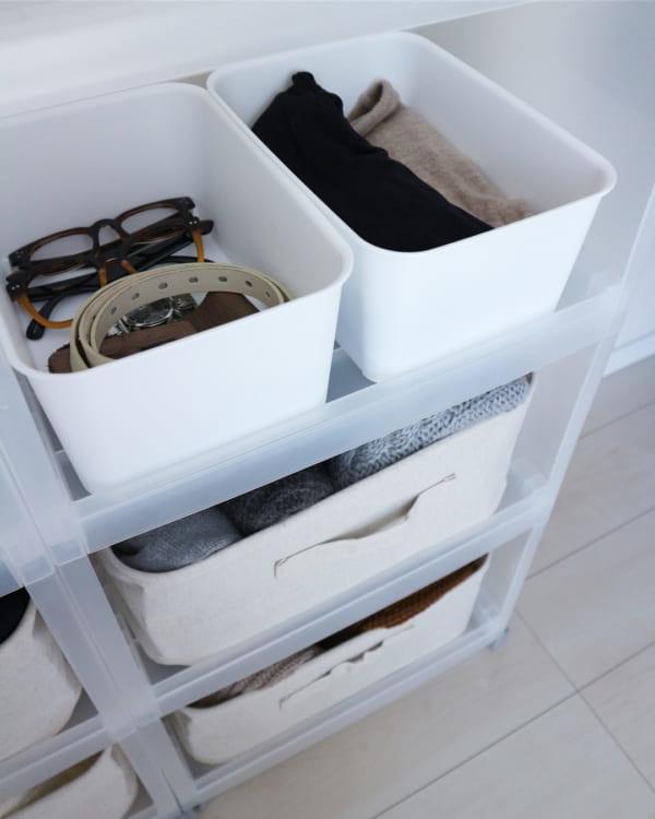 ボックスを使って収納している実例4