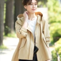 秋に羽織りたい♡トレンドライクな大人女子のショートアウターコーデ特集!