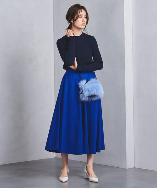 UWSC W/N フレア スカート