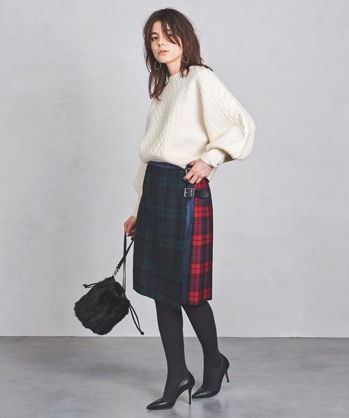 パッチワーク スカート