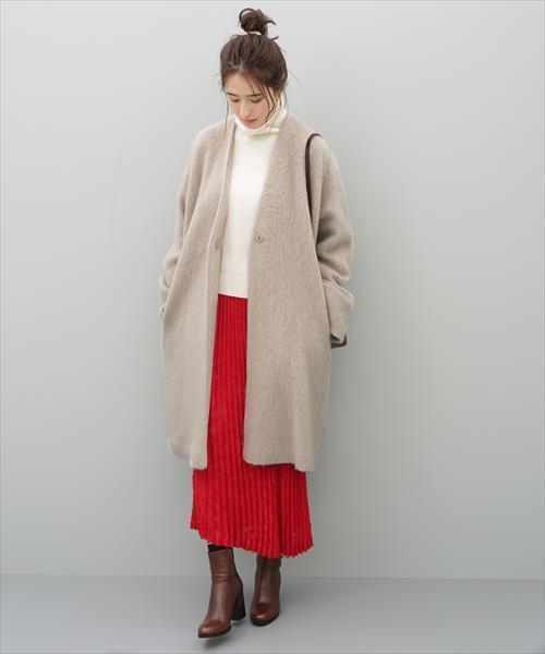 モヘヤシャギーコート