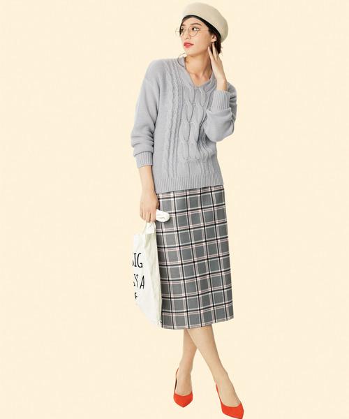 [Ranan] 選べる!スカートスタイルセットアップ