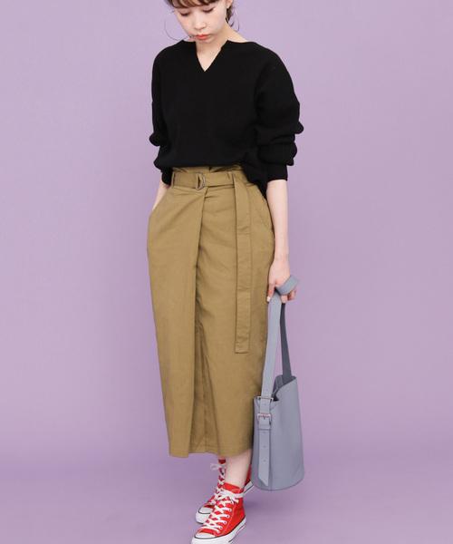 タックラップタイトスカート