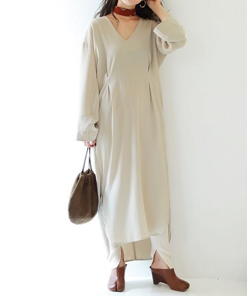 [TODAYFUL] バックツイストドレス