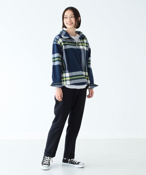 ビッグタータン バスクシャツ・ブルー
