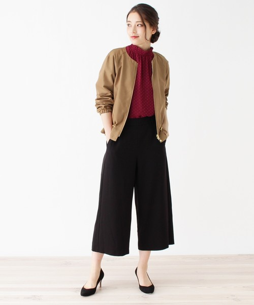 [grove] 【WEB限定サイズあり】ドロストデザインジャケット