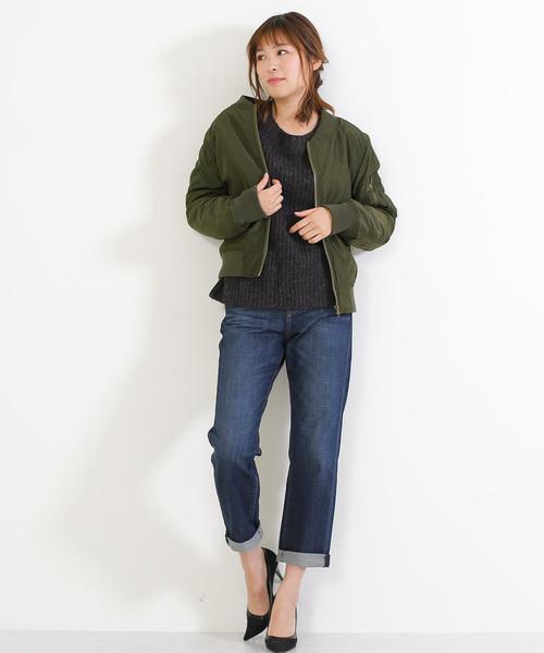 ミリタリーカジュアルキルティングジャケット