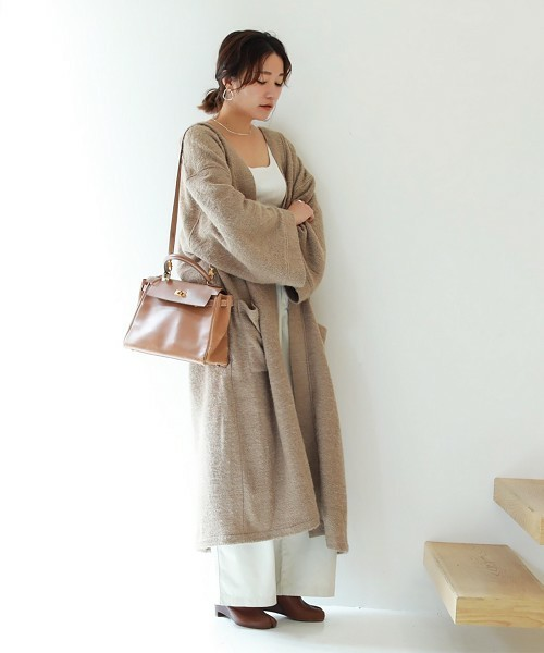 [CANAL JEAN] TODAYFUL(トゥディフル) ''Softwool Gown Coat''/ソフトガウンウールコート/11820017