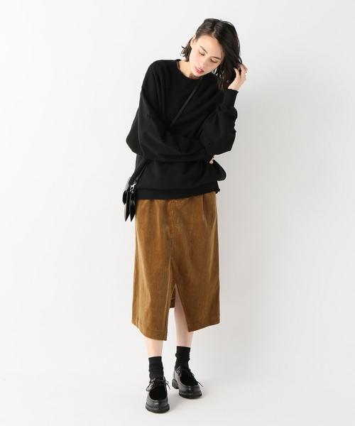 【08 SIRCUS/08サーカス】コーデュロイペンシルスカート