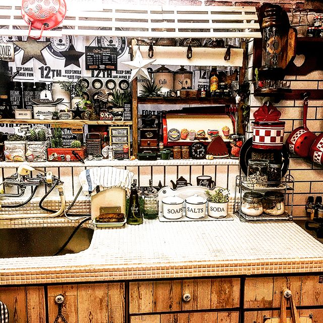 物が多くても素敵なキッチンは作れる14