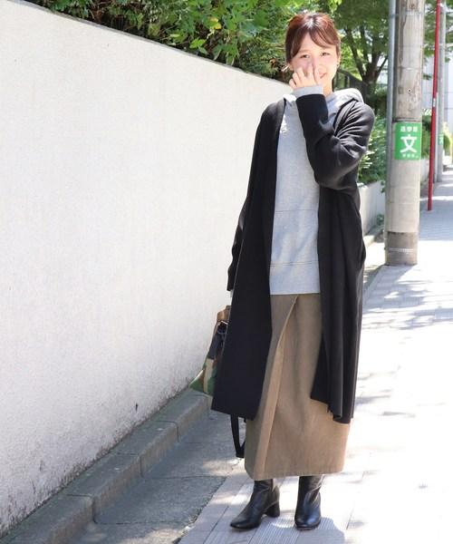 フトコールタイトスカート