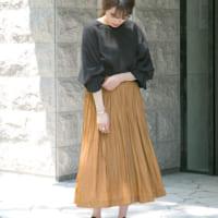この秋冬気になるプリーツスカート特集☆今年の着こなし方はこれ!