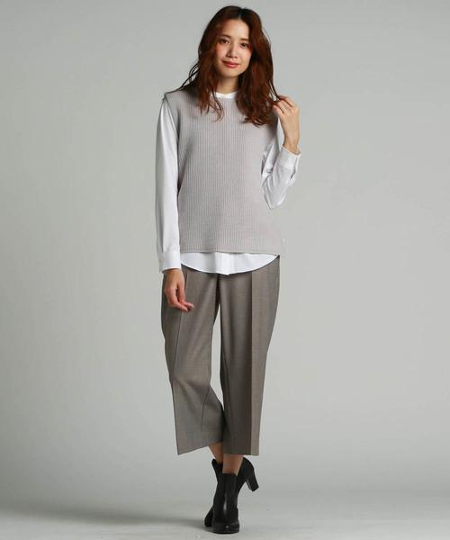 【大きいサイズ】Jカミーチェスタンドカラーシャツ