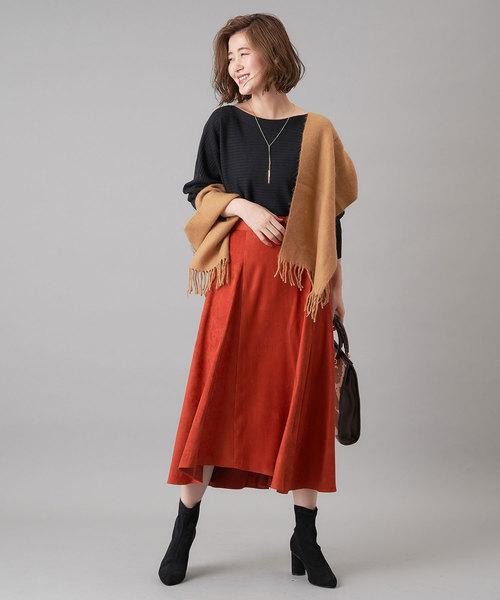 [RIVE DROITE] elmozaマチフレアースカート