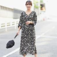 秋も大活躍する優秀アイテム☆《花柄ワンピース》のレディライクコーデ15選