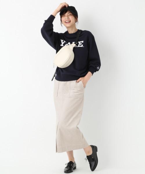 【CLASSY.11月号掲載】コーデュロイタイトスカート