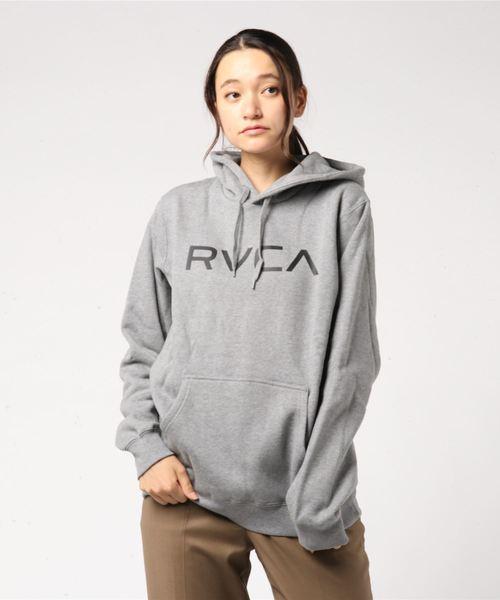 レディース BIG RVCA PULL パーカー