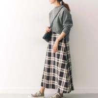 秋コーデの主役にしたい《ロングスカート》☆お気に入りの一枚を見つけよう!
