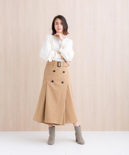 2パターントレンチスカート2