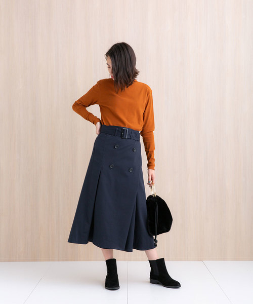 2パターントレンチスカート10
