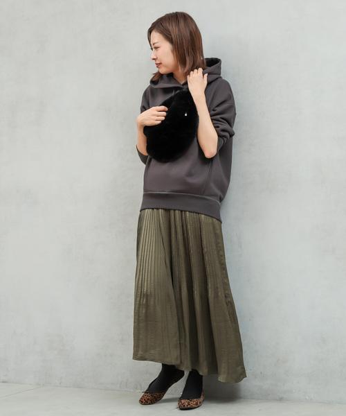 [CIAOPANIC TYPY] 【2WAY】ヴィンテージサテンプリーツスカート2