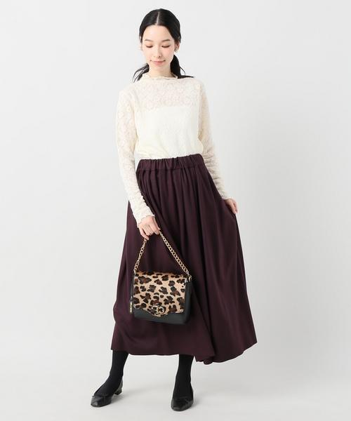 SACRA FINE MILLED スカート◆