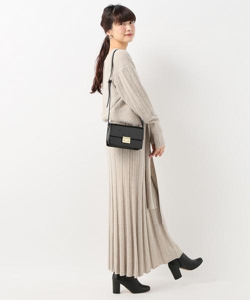 SLOBE IENA Fi.m MIXネップロングスカート