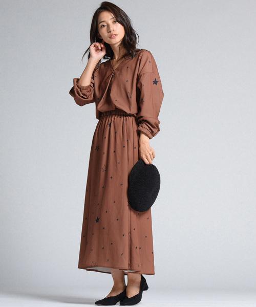 イラストレーター【山川春奈】×【LIPSTAR】コラボスターロングスカート