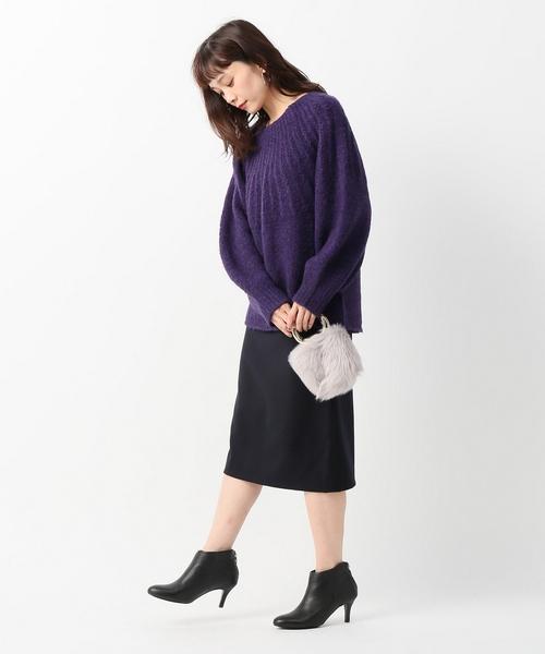 ミルドウールタイトスカート