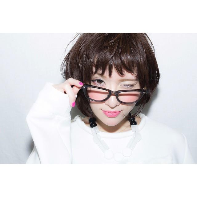 メガネが似合うショートヘア5