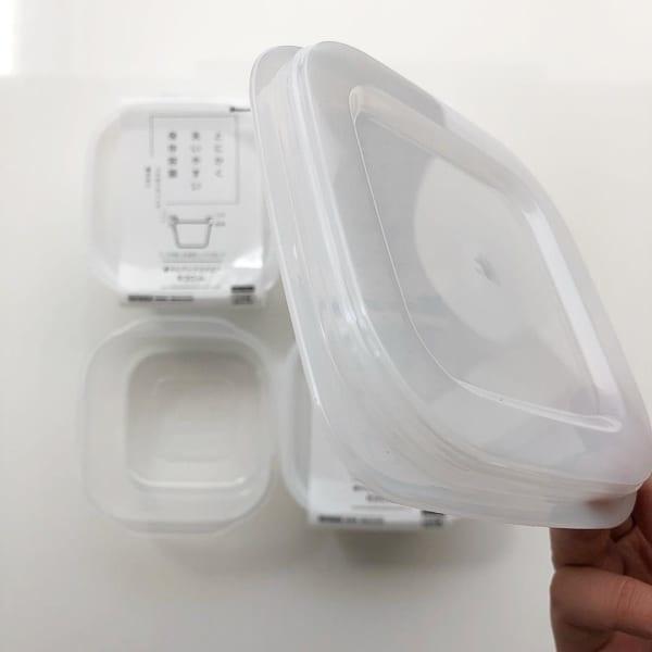 とにかく洗いやすい保存容器2