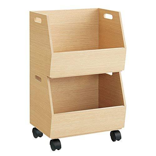 スタッキング可能な収納ボックス3