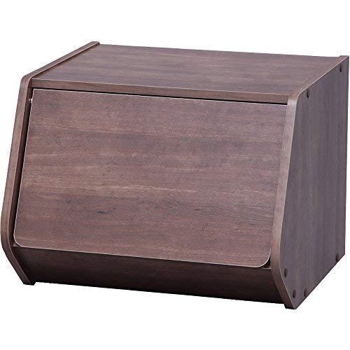 スタッキング可能な収納ボックス