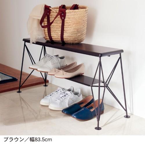 ベンチタイプの靴の収納アイテム例3