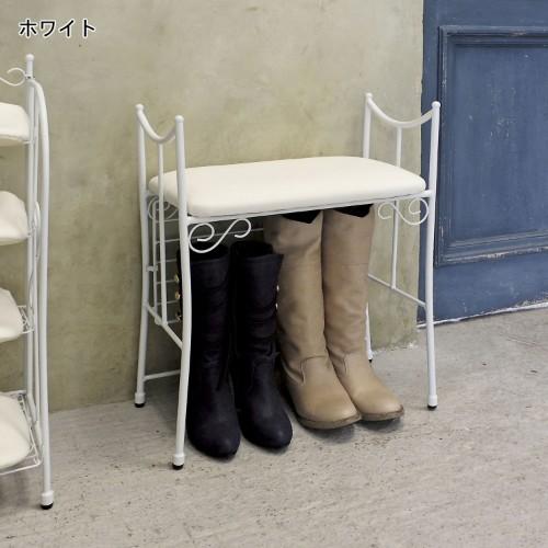 ベンチタイプの靴の収納アイテム例4