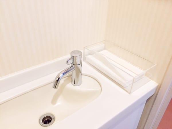 トイレに必須のタオルを撤去!
