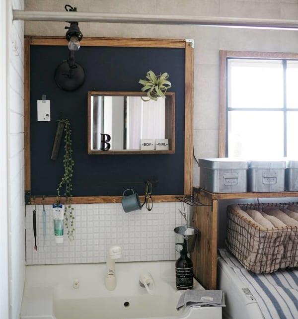 洗面台の収納2