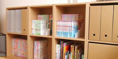 【連載】便利な「セリア」の収納グッズをご紹介☆コミックや文庫本の収納にぴったり!