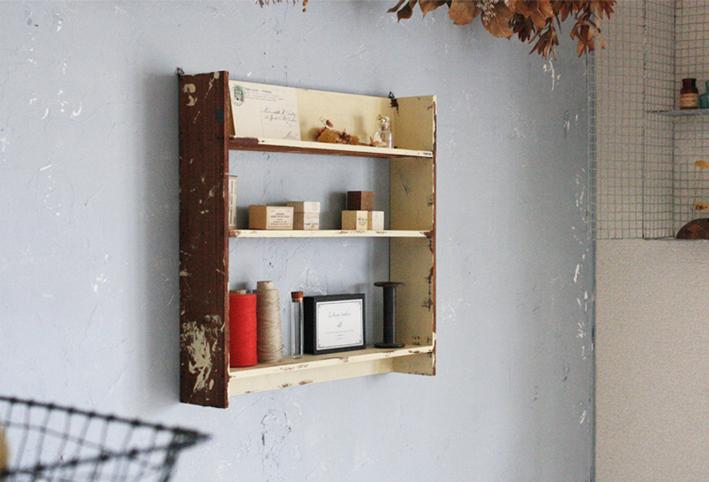 セリアの木材だけで作ったおしゃれ棚