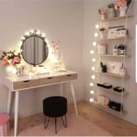 一年中使える☆お部屋を照らす「イルミネーションライト」の飾り方特集